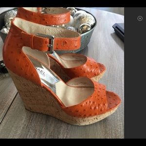 Beautiful MK wedges in size 8.5